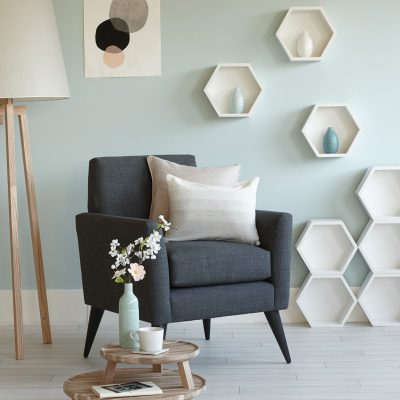 Interior Stylist Pippa Jameson styling for Homestyle magazine